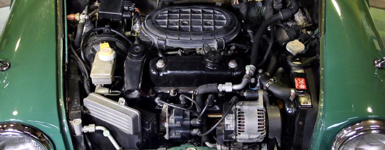 エンジン機構の点検
