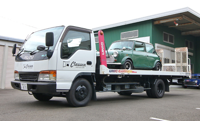 全国どこへでもローバーミニ中古車を納車