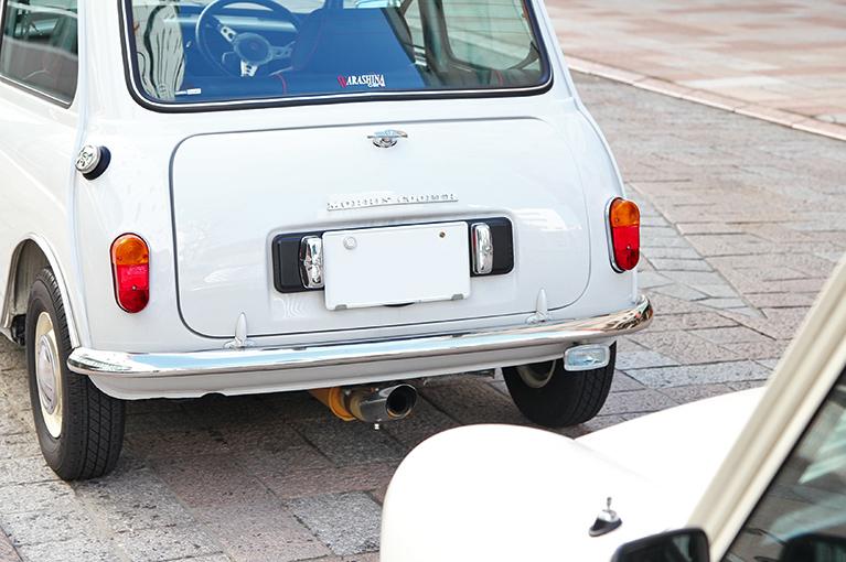 ローバーミニ 1300キャブ