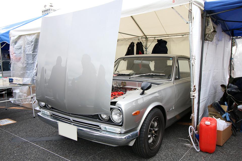 スカイライン 2000 GT-R PGC10_ニューイヤーミーティング