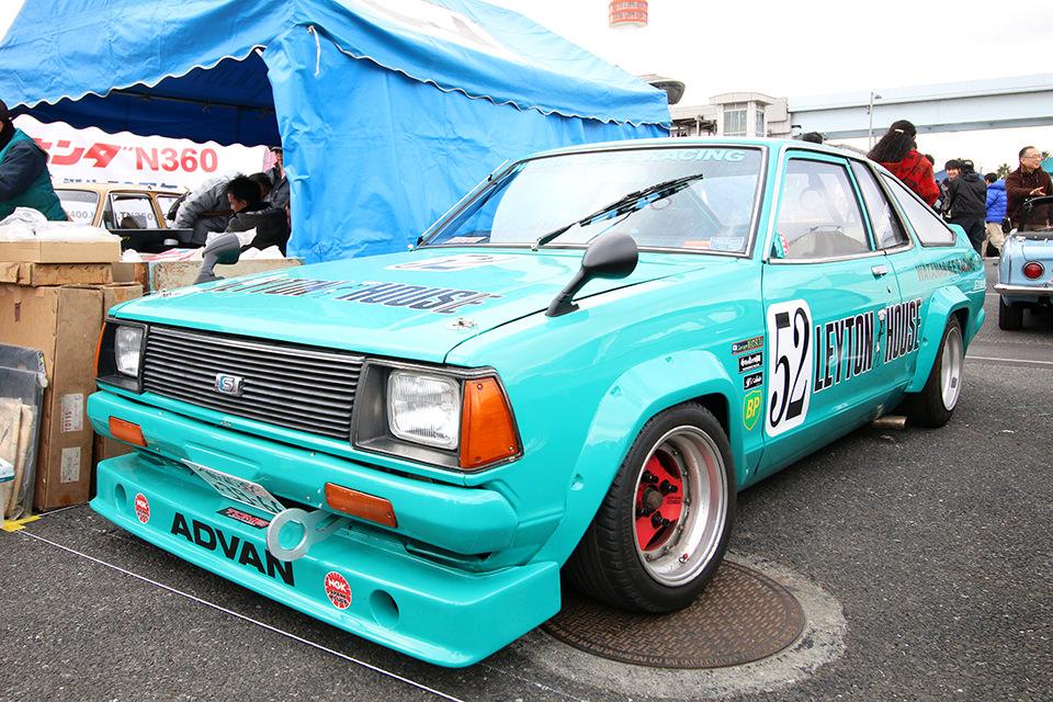 日産 サニー B110 レーシング TS仕様_ニューイヤーミーティング