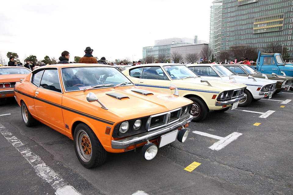 三菱 コルト ギャラン GTO MR_ニューイヤーミーティング