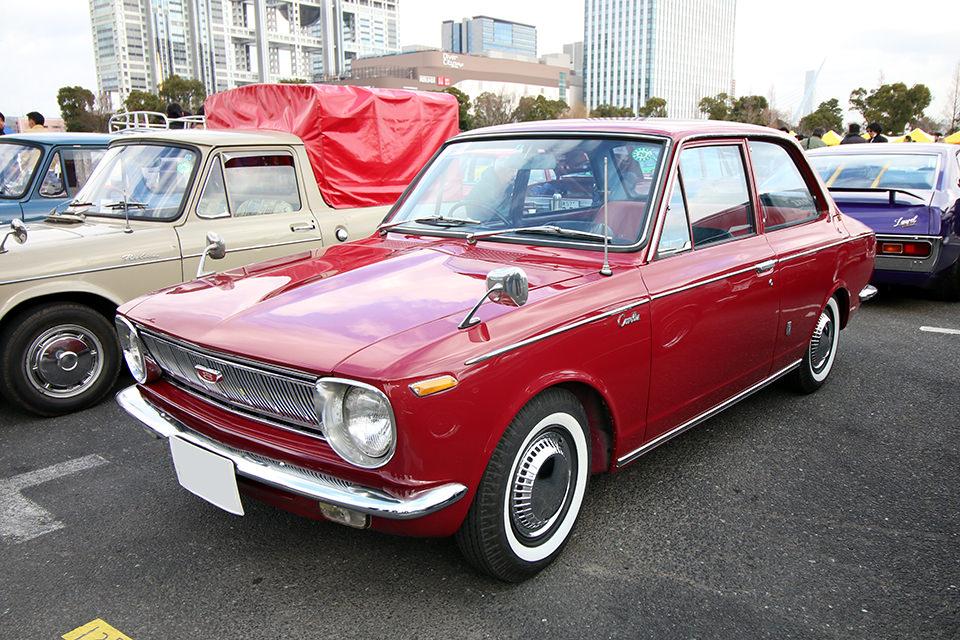 トヨタ カローラ 1100_ニューイヤーミーティング