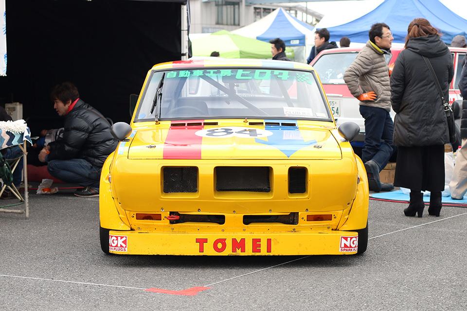 日産 サニー B110レーシング TS仕様_2_ニューイヤーミーティング