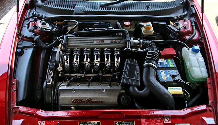 アルファロメオ156 _エンジン