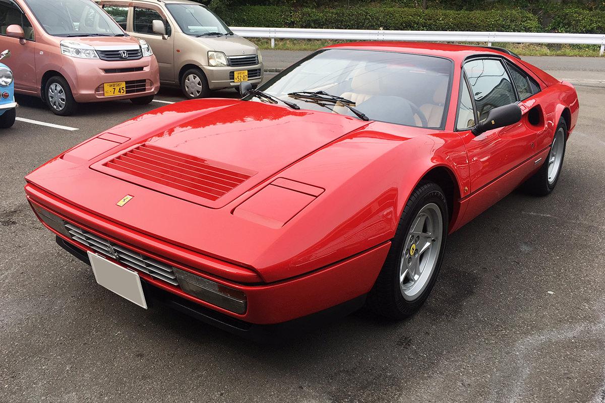 フェラーリ328GTB_フロント