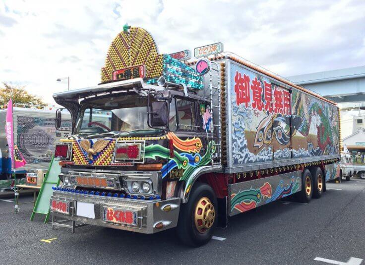 トラック野郎_お台場旧車天国2017