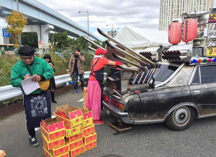 石焼き芋_センチュリー_お台場旧車天国2017