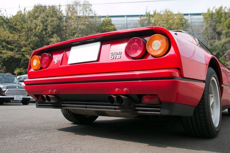 フェラーリ328GTB_リヤ