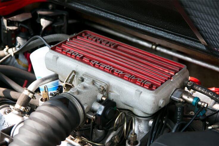 フェラーリ328GTB_エンジン