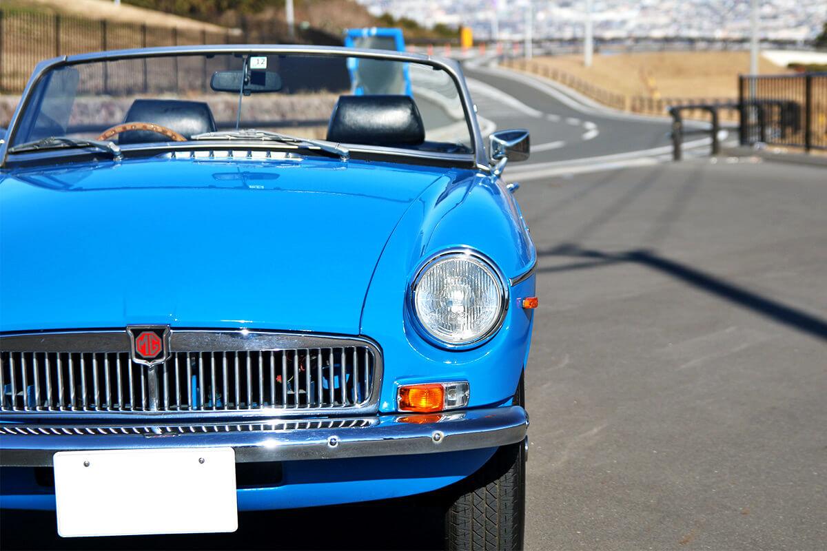 MG-B ブルー