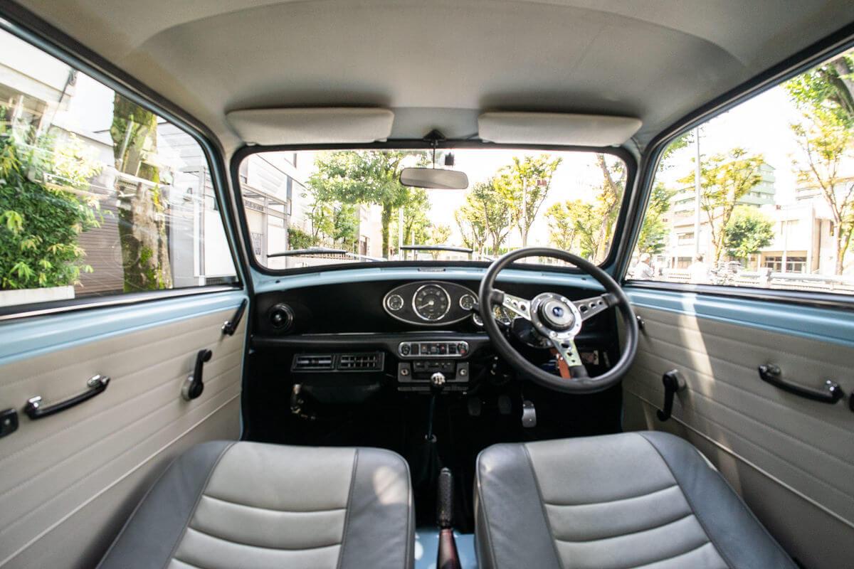 ローバーミニ キャブクーパー 70'sスタイル